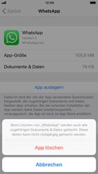 Apple iPhone 8 - iOS 12 - Apps - Eine App deinstallieren - Schritt 7