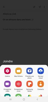 Samsung Galaxy A10 - E-mails - Envoyer un e-mail - Étape 13