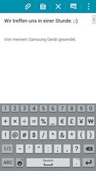 Samsung A500FU Galaxy A5 - E-Mail - E-Mail versenden - Schritt 10