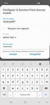 Samsung Galaxy S10 Plus - WiFi - Comment activer un point d'accès WiFi - Étape 11