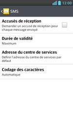 LG E460 Optimus L5 II - SMS - configuration manuelle - Étape 9