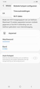 Samsung Galaxy S20 Plus 5G Dual SIM eSIM SM-G986B - WiFi - Mobiele hotspot instellen - Stap 8