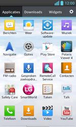 LG E460 Optimus L5 II - Voicemail - Handmatig instellen - Stap 3