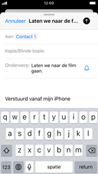 Apple iphone-se-met-ios-13-model-a1723 - E-mail - Hoe te versturen - Stap 7