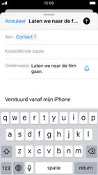 Apple iPhone SE - iOS 13 - E-mail - e-mail versturen - Stap 6