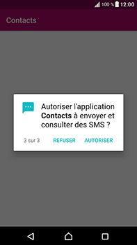 Sony Xperia XA1 Ultra - Contact, Appels, SMS/MMS - Ajouter un contact - Étape 11