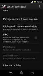Sony C1905 Xperia M - Internet - configuration manuelle - Étape 6