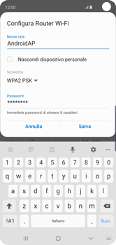Samsung Galaxy S10 - WiFi - Come attivare l