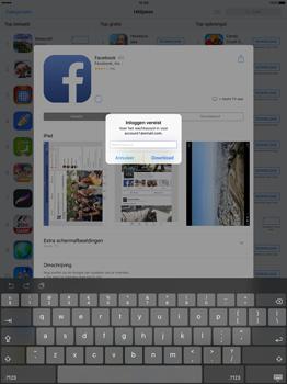 Apple iPad Pro 12.9 inch (Model A1671) - Applicaties - Account aanmaken - Stap 26
