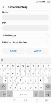 Huawei Mate 10 Pro - E-Mail - Konto einrichten - Schritt 12