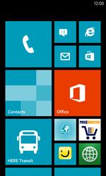 Nokia Lumia 520 - Premiers pas - Comprendre les icônes affichés - Étape 1