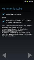 Sony Xperia J - Apps - Einrichten des App Stores - Schritt 18