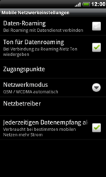 HTC Desire S - Ausland - Im Ausland surfen – Datenroaming - 8 / 10