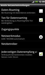 HTC S510e Desire S - Internet - Manuelle Konfiguration - Schritt 6