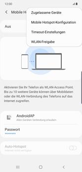 Samsung Galaxy Note 10 Plus 5G - WiFi - So aktivieren Sie einen WLAN-Hotspot - Schritt 8