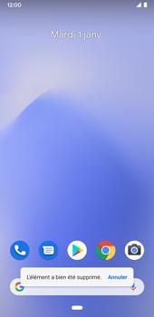 Google Pixel 3a - Applications - Personnaliser l