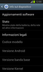 Samsung Galaxy Trend Lite - Software - Installazione degli aggiornamenti software - Fase 6