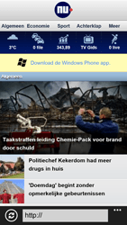 HTC Windows Phone 8X - Internet - hoe te internetten - Stap 11