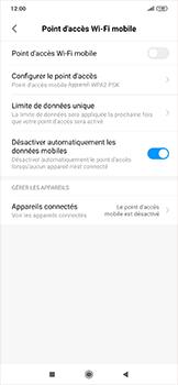 Xiaomi RedMi Note 7 - WiFi - Comment activer un point d'accès WiFi - Étape 4