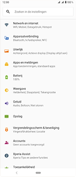 Sony Xperia 1 - Bluetooth - headset, carkit verbinding - Stap 4