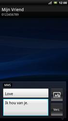 Sony Xperia Arc - MMS - Afbeeldingen verzenden - Stap 9
