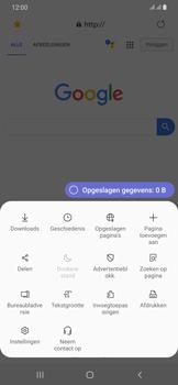 Samsung Galaxy A30 - internet - hoe te internetten - stap 19