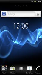Sony LT22i Xperia P - SMS - handmatig instellen - Stap 1