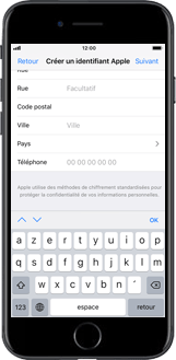 Apple iPhone 8 - iOS 12 - Applications - Configuration de votre store d