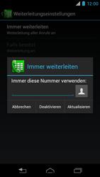 Motorola RAZR i - Anrufe - Rufumleitungen setzen und löschen - 9 / 10