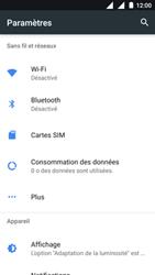 Nokia 3 - Wi-Fi - Se connecter à un réseau Wi-Fi - Étape 4
