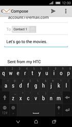 HTC Desire 320 - E-mail - Sending emails - Step 10