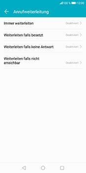 Huawei Honor 9 Lite - Anrufe - Rufumleitungen setzen und löschen - 6 / 9