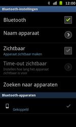 Samsung I9070 Galaxy S Advance - Bluetooth - Headset, carkit verbinding - Stap 10