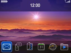 BlackBerry 9300 Curve 3G - MMS - Afbeeldingen verzenden - Stap 1