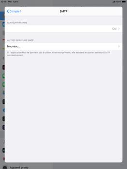 Apple iPad mini (2019) - iPadOS 13 - E-mail - configuration manuelle - Étape 20