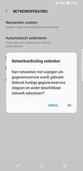 Samsung Galaxy S8 - netwerk en bereik - gebruik in binnen- en buitenland - stap 11