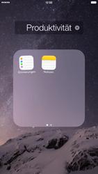 Apple iPhone 6 Plus - iOS 8 - Startanleitung - Personalisieren der Startseite - Schritt 5