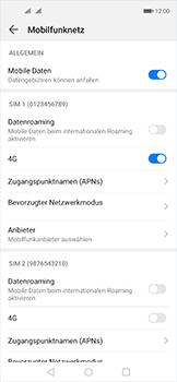 Huawei Nova 5T - Internet und Datenroaming - Prüfen, ob Datenkonnektivität aktiviert ist - Schritt 6