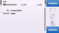 Nokia C6-00 - MMS - Erstellen und senden - Schritt 13