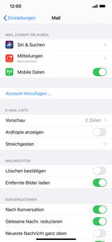 Apple iPhone XS Max - iOS 14 - E-Mail - Manuelle Konfiguration - Schritt 4