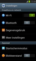 Samsung Galaxy S III Mini - bluetooth - aanzetten - stap 4