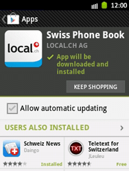 Samsung Galaxy Pocket - Applications - Installing applications - Step 9