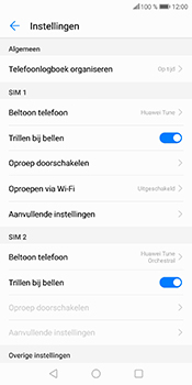 Huawei P Smart - Voicemail - Handmatig instellen - Stap 5
