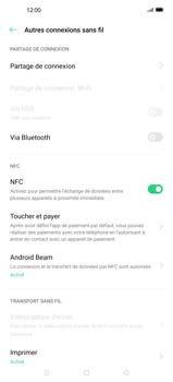 Oppo Find X2 Pro - WiFi - Comment activer un point d'accès WiFi - Étape 5
