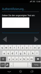 Sony E2003 Xperia E4G - Apps - Konto anlegen und einrichten - Schritt 15