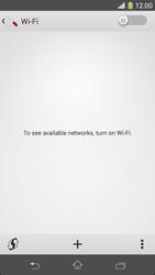 Sony Xperia Z1 Compact - WiFi - WiFi configuration - Step 5