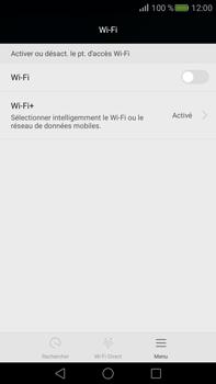 Huawei Mate S - Wi-Fi - Accéder au réseau Wi-Fi - Étape 4