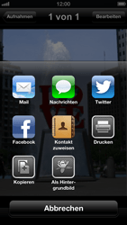 Apple iPhone 5 - E-Mail - E-Mail versenden - Schritt 6