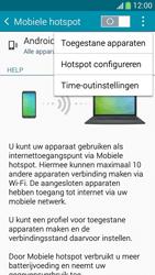 Samsung I9195i Galaxy S4 mini VE - WiFi - Mobiele hotspot instellen - Stap 7