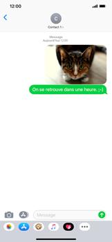 Apple iPhone XR - Contact, Appels, SMS/MMS - Envoyer un MMS - Étape 15